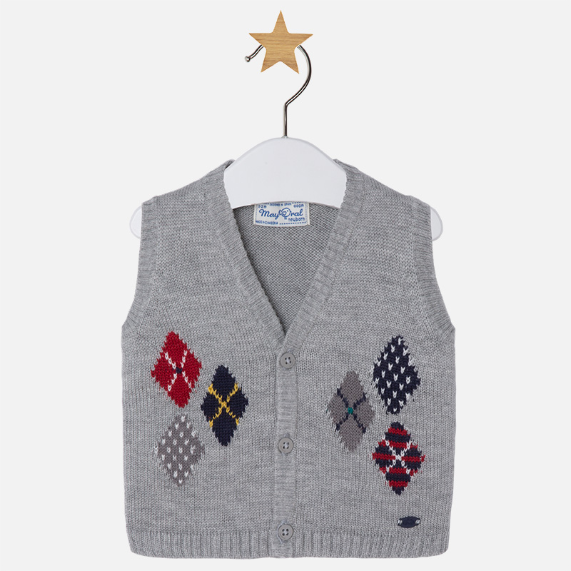 Chaleco para bebé niño en tricot sin mangas M.2315 Mayoral 3fcf21194689